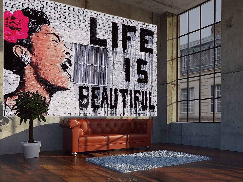 Senden Sie eine Nachricht 10 atemberaubende Möglichkeiten, um Street Art zu Hause zu bringen