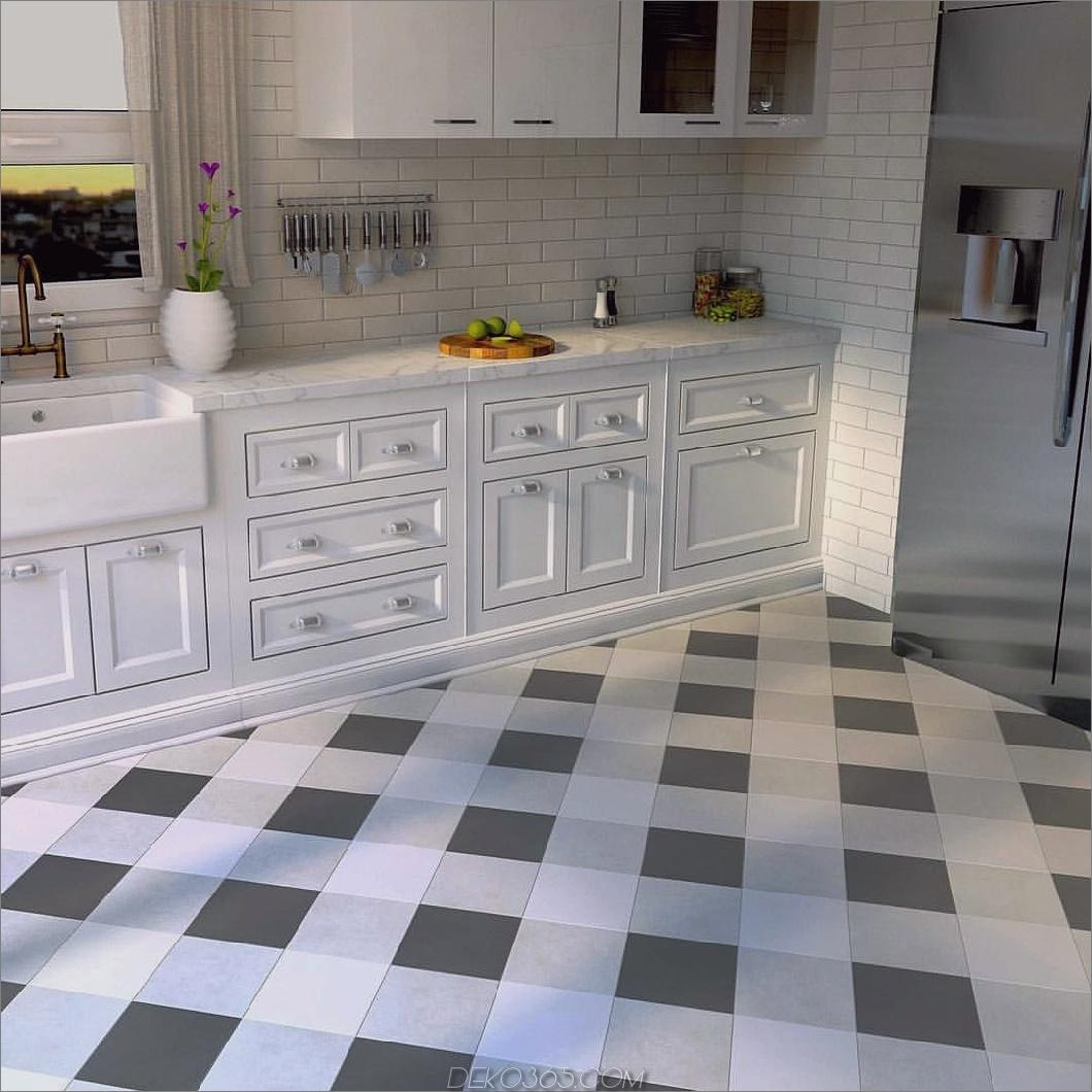 Plaid in der Küche 10 Räume, die zeigen, dass Plaid definitiv zurück ist