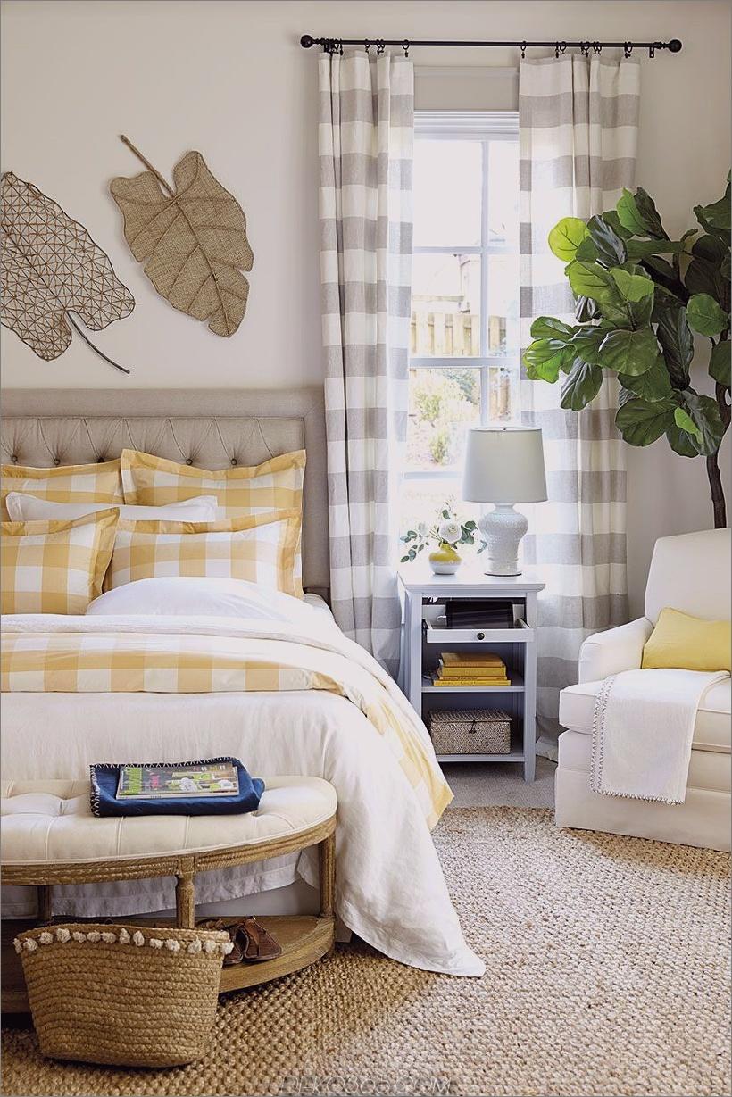 neutrales plaid-schlafzimmer 2 10 Räume, die zeigen, dass Plaid definitiv zurück ist
