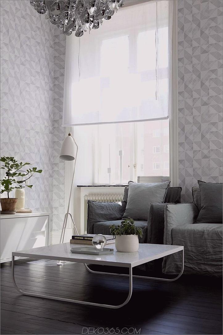 geometrische wohnzimmer tapete 10 Frühling Trends, um Ihren Raum Fichte