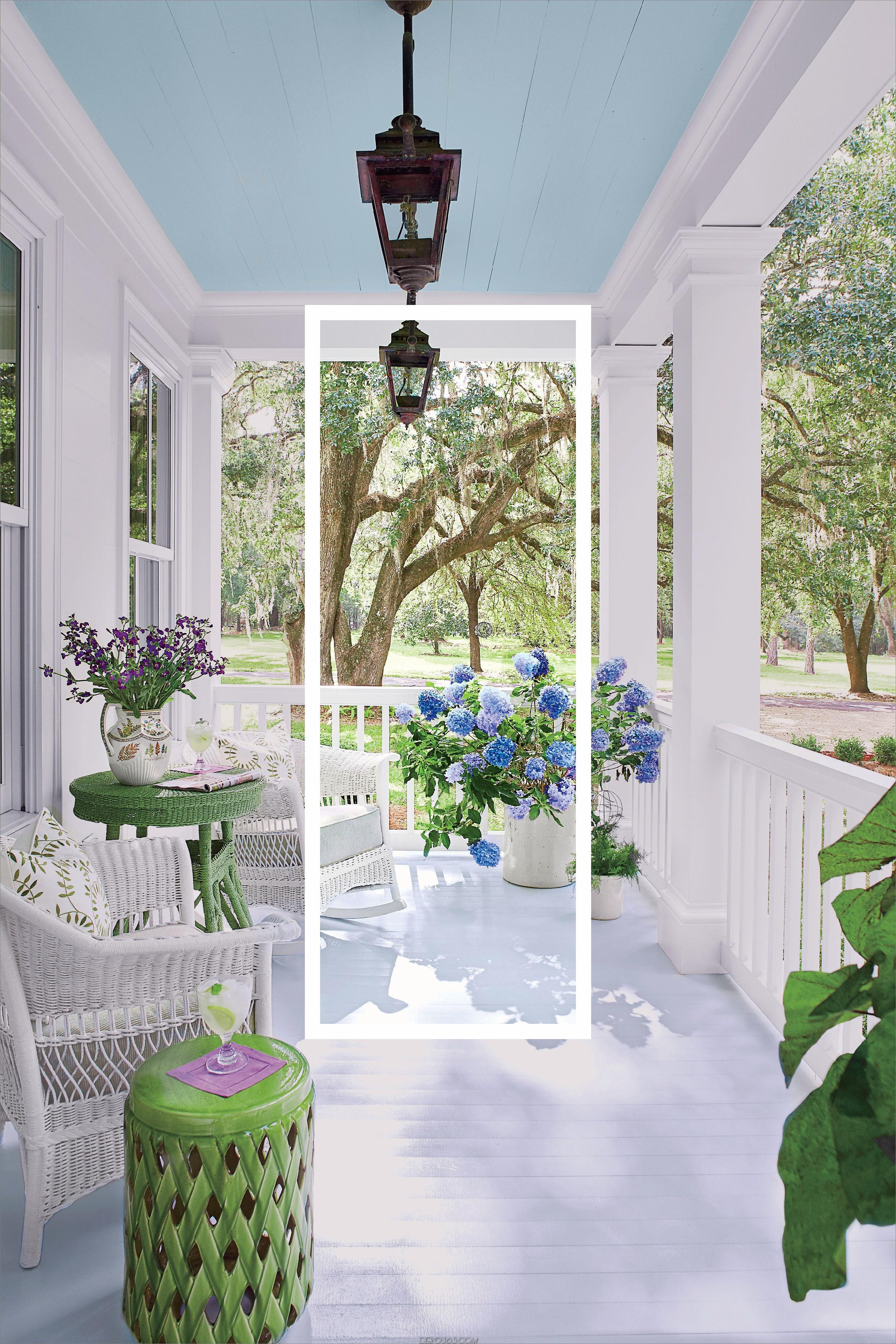 Licht und luftige Veranda Dekor 10 Möglichkeiten, um Ihren Veranda diesen Sommer zu dekorieren
