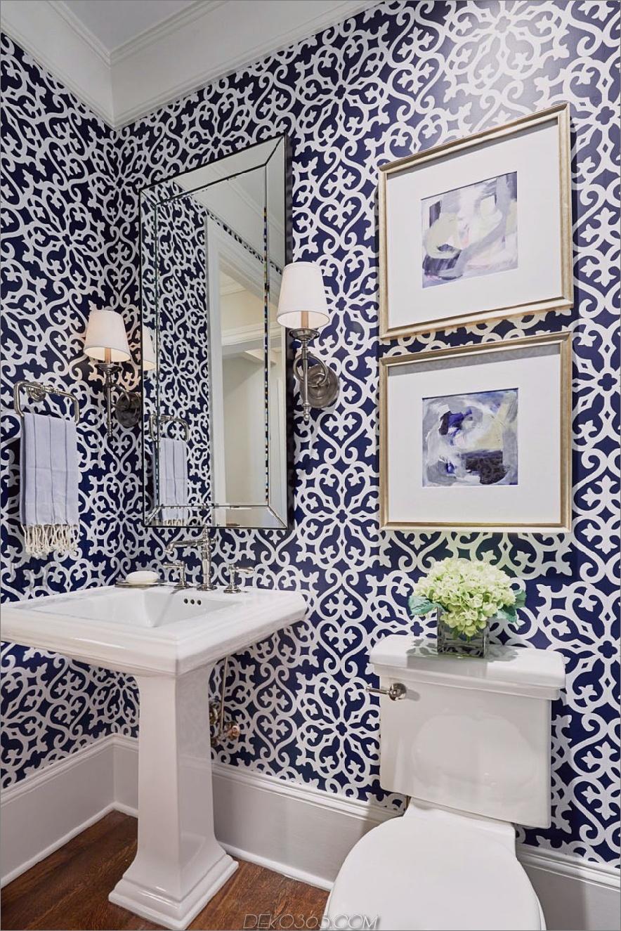 blue powder room 1 10 Puderzimmer, die Ihnen den Atem rauben werden