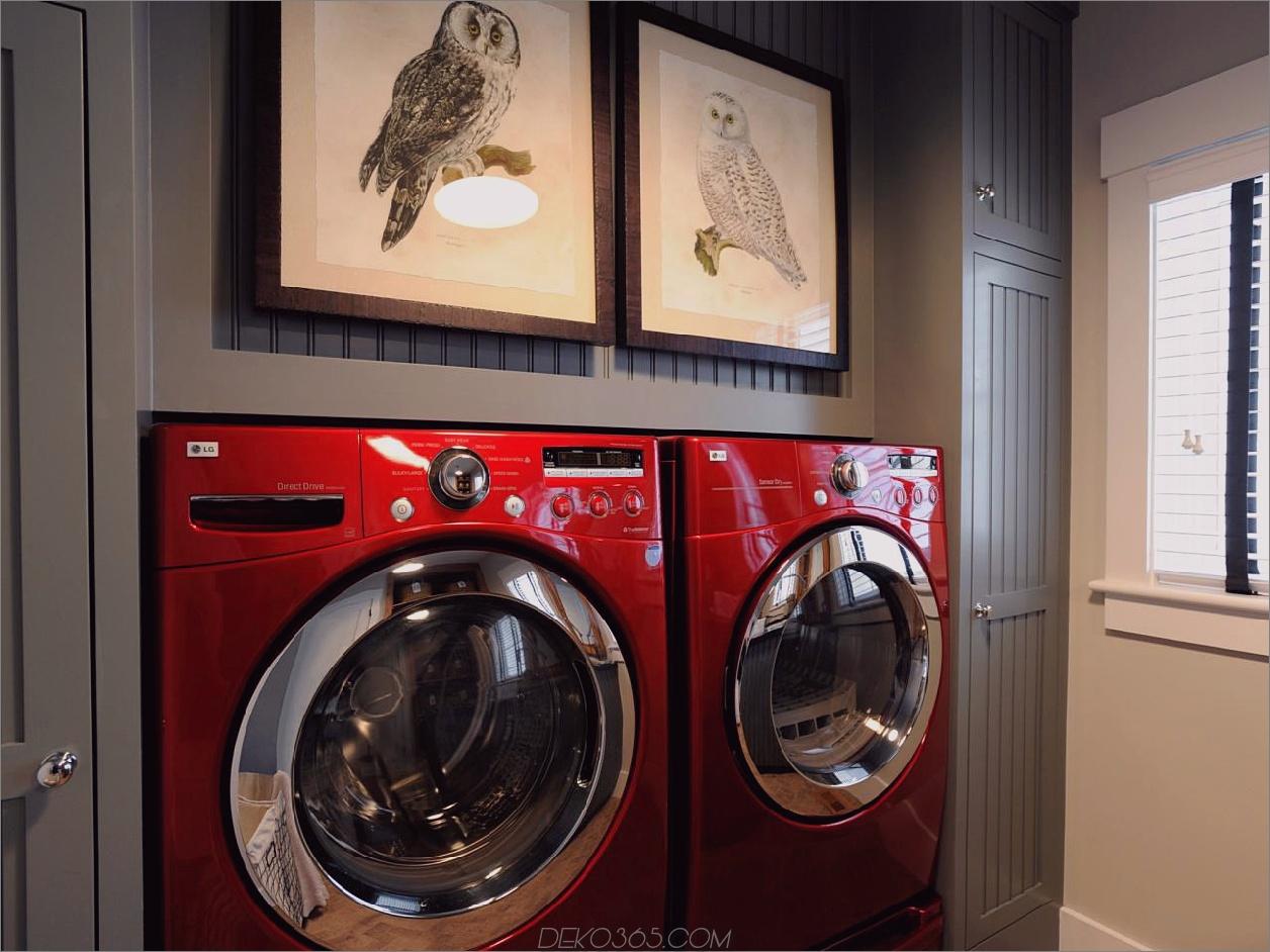 10 wunderschöne, aber funktionelle Waschküchen