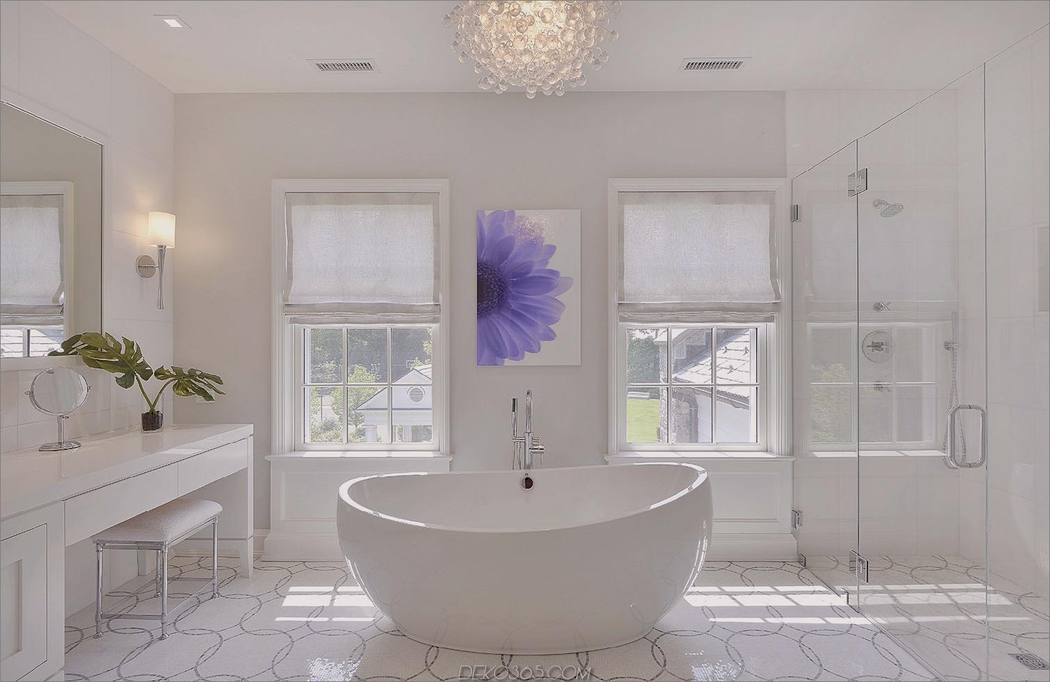 alle weißen eleganten Badezimmer 11 Farben, die Ihr Badezimmer total teuer aussehen lassen