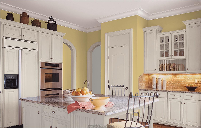 ausgereifte gelbe Küche 2 11 Gelbe Ideen für die Küche, die Ihr Zuhause aufhellen