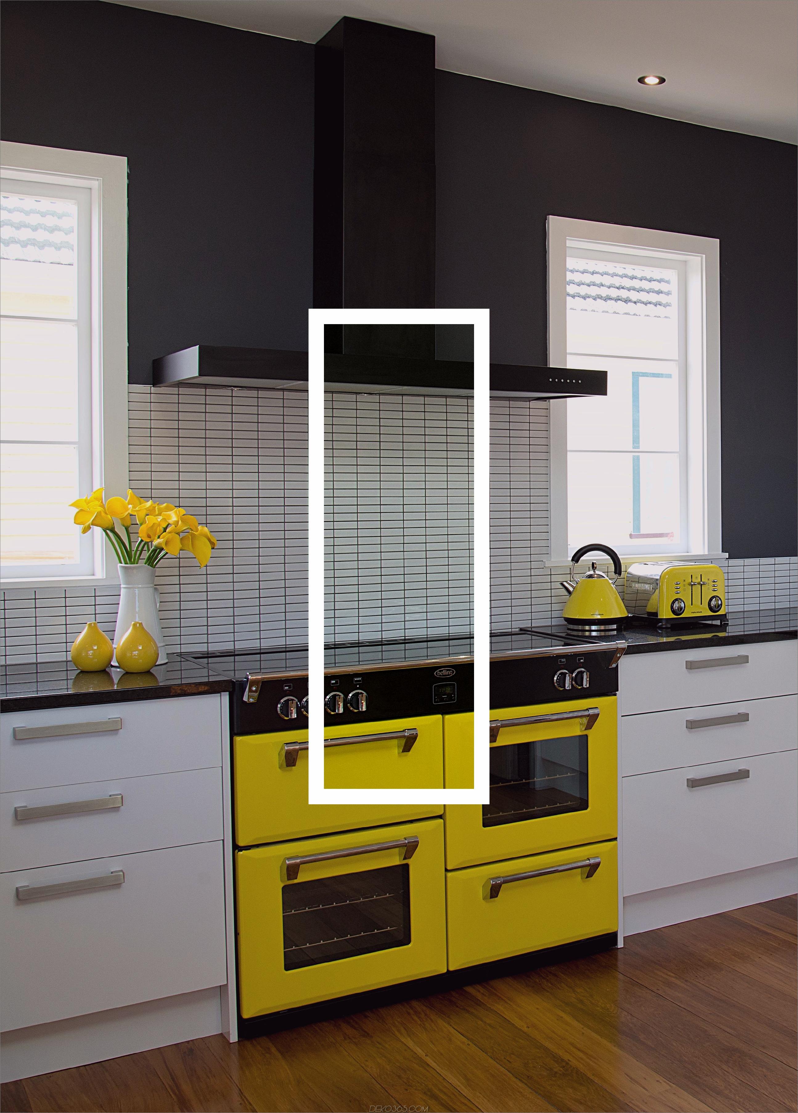 Gelbe Geräte 11 Gelbe Küchenideen, die Ihr Zuhause aufhellen