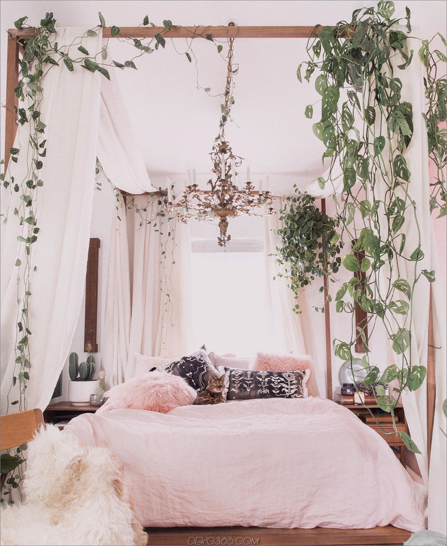 böhmisches Dekor mit Pflanzen 11 Räume mit einem böhmischen Twist