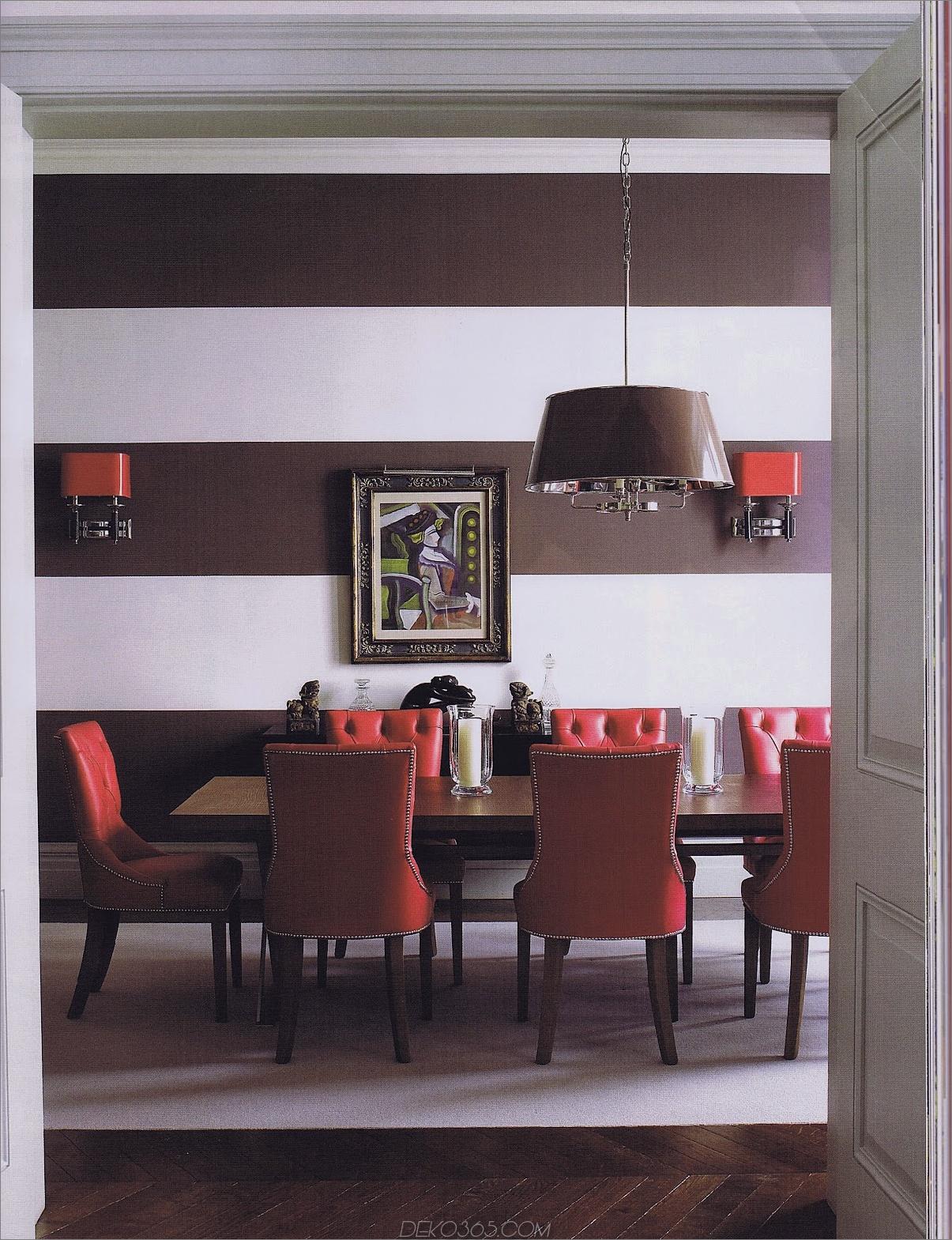 Rubintöne im Speisesaal 11 Schöne Farbschemata, die Sie ausprobieren möchten