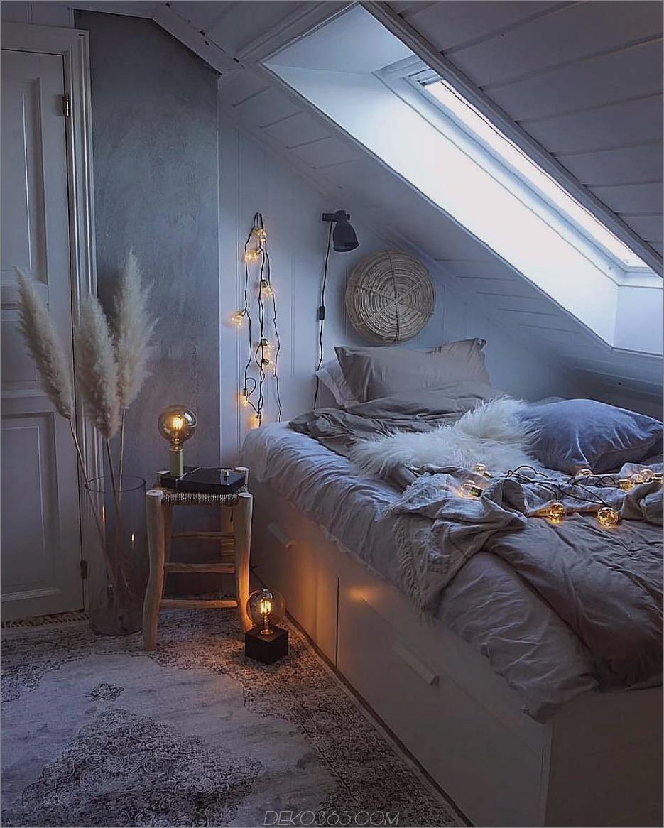 gemütliche Beleuchtung 11 Dekoration Tricks, um Ihr Schlafzimmer Cozier zu machen