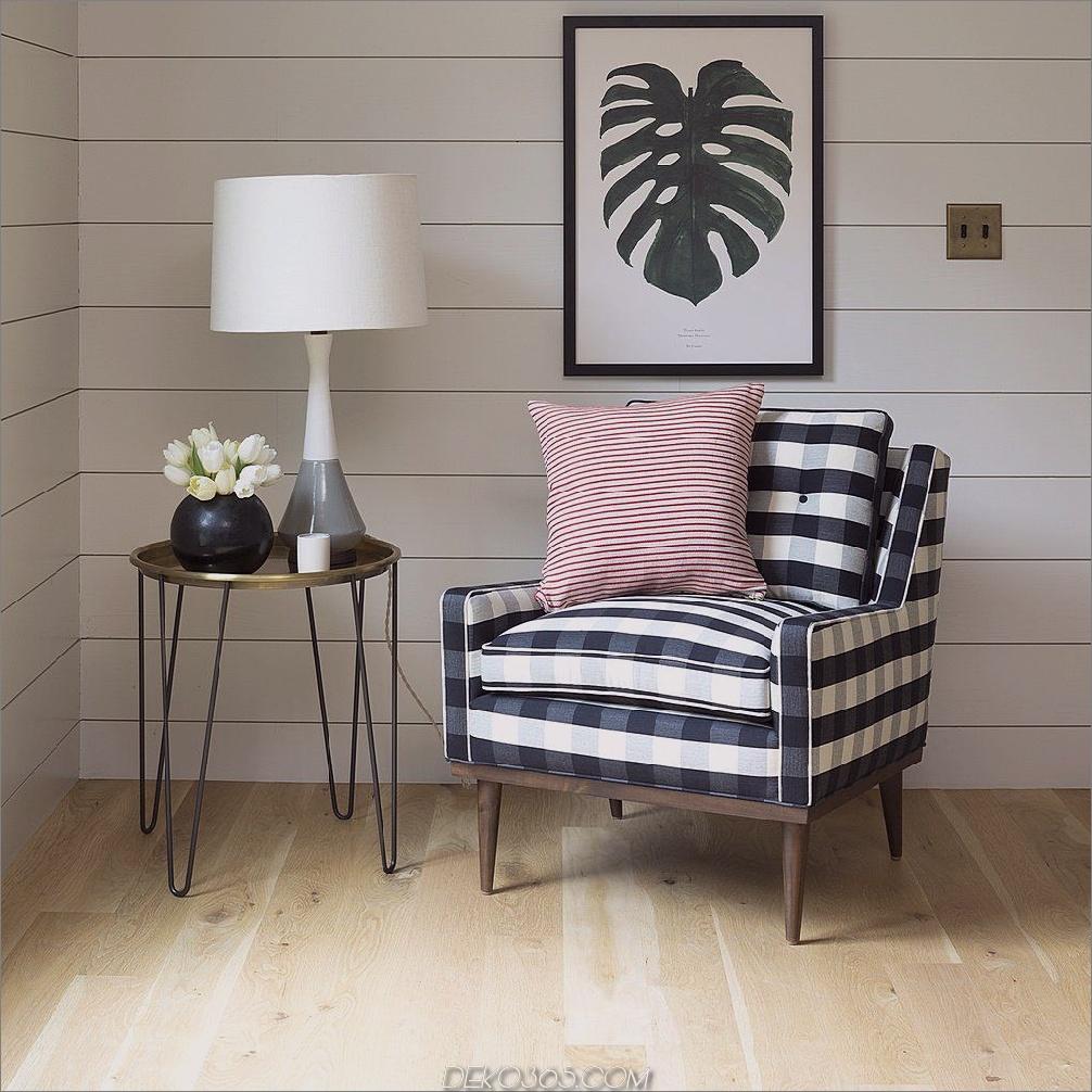 Karierte Stühle in der Ecke 12 Interior Design Elements für Ihren Raum jetzt hinzufügen
