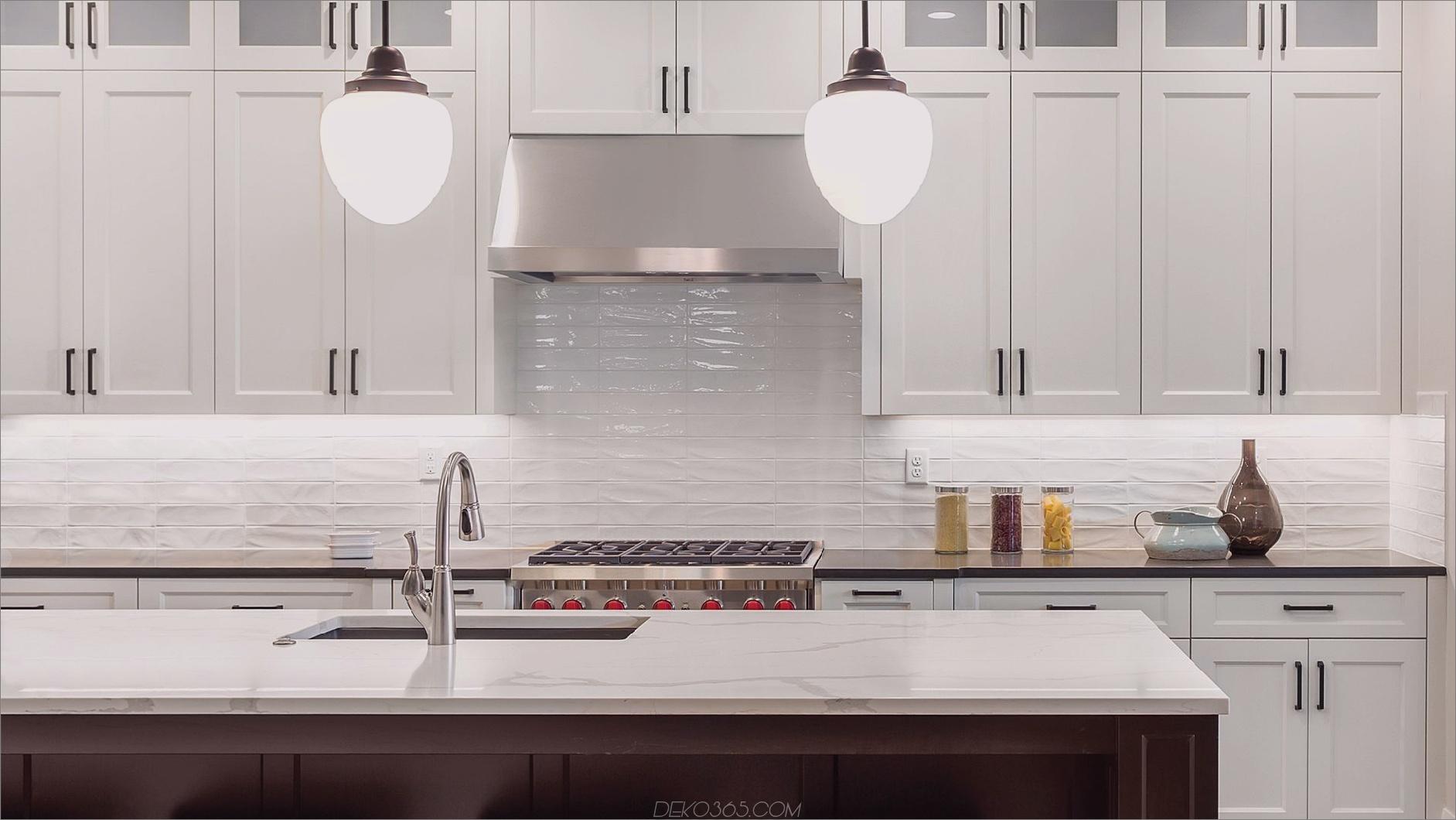 glänzende weiße Fliesen 12 Amazing Küchen mit glänzenden Fliesen