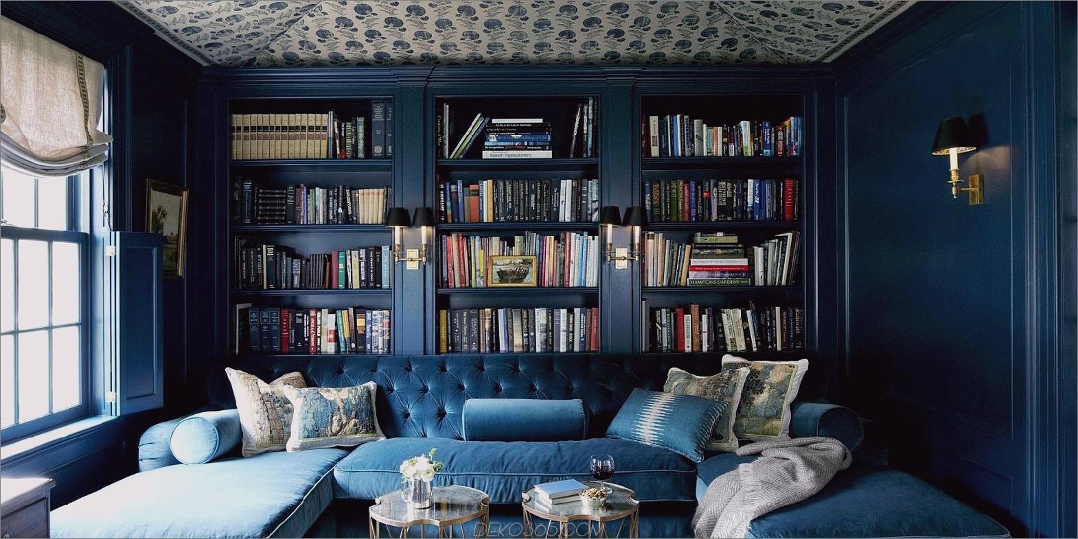 gemütliche Heimbibliothek 12 Heimbibliotheken mit makellosem Stil