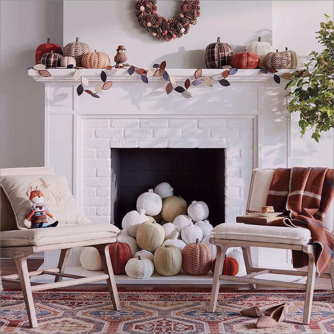 kleines und intimes Herbst-Wohnzimmer 12 Möglichkeiten, ein gemütliches Zimmer für den Herbst zu schaffen