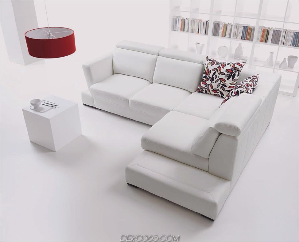 alle weißen Wohnzimmer mit Pop von Farbe 12 Schöne weiße Wohnzimmermöbel Ideen