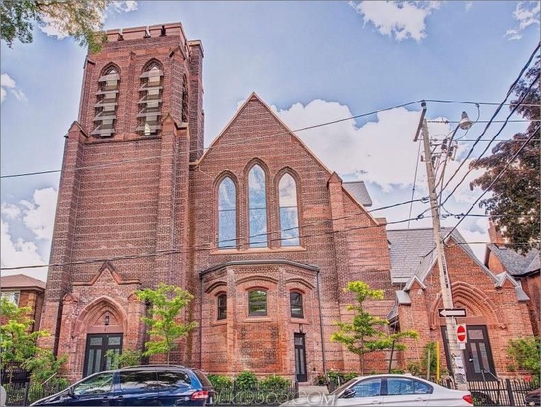Konvertierte Kirche Eigentumswohnung