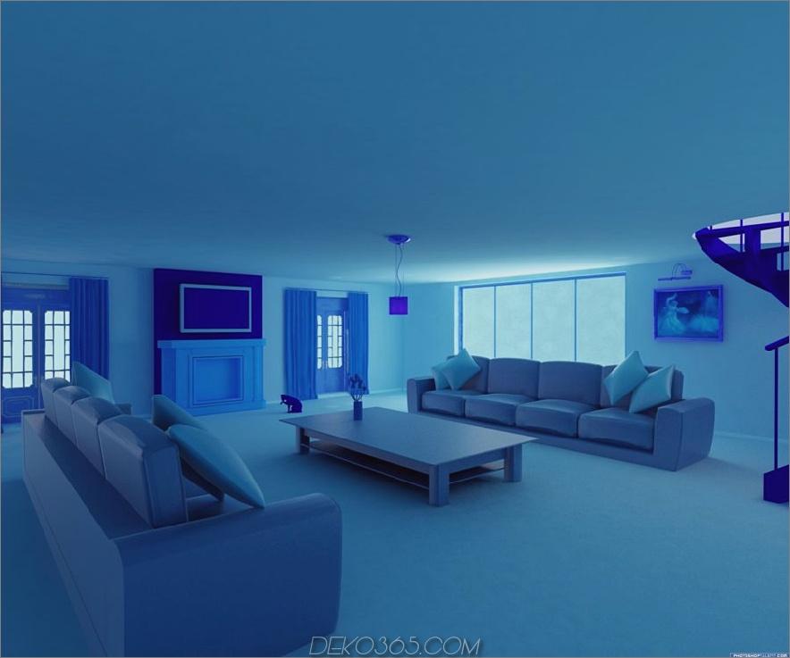 blaue Raumtöne