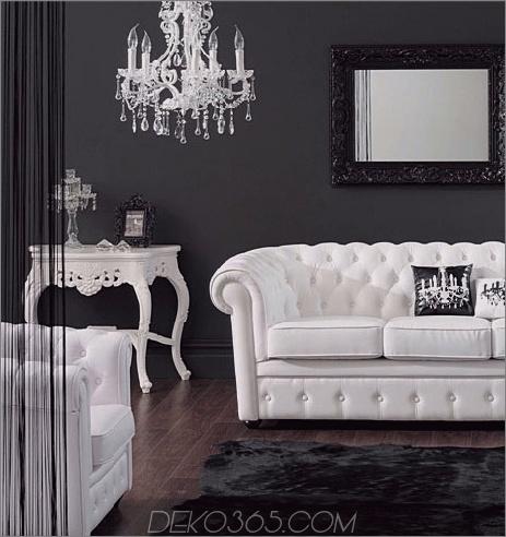 Schwarz und weiß