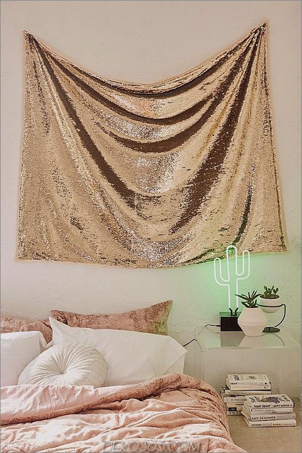Glitter-Wandteppich 15 Glitter-Akzente, perfekt für Jazzing Up The House