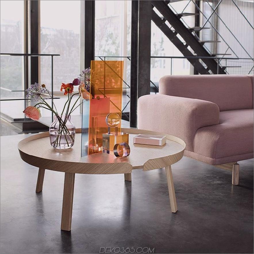 muuto um couchtisch extra groß 900x900 15 Große Couchtische für Ihr XL-Wohnzimmer