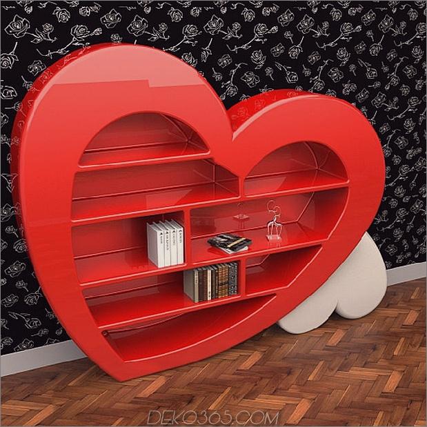 1 Zuhause ist da, wo das Herz ist Daumen 630xauto 62623 15 herzförmige Möbel und Dekor Ideen