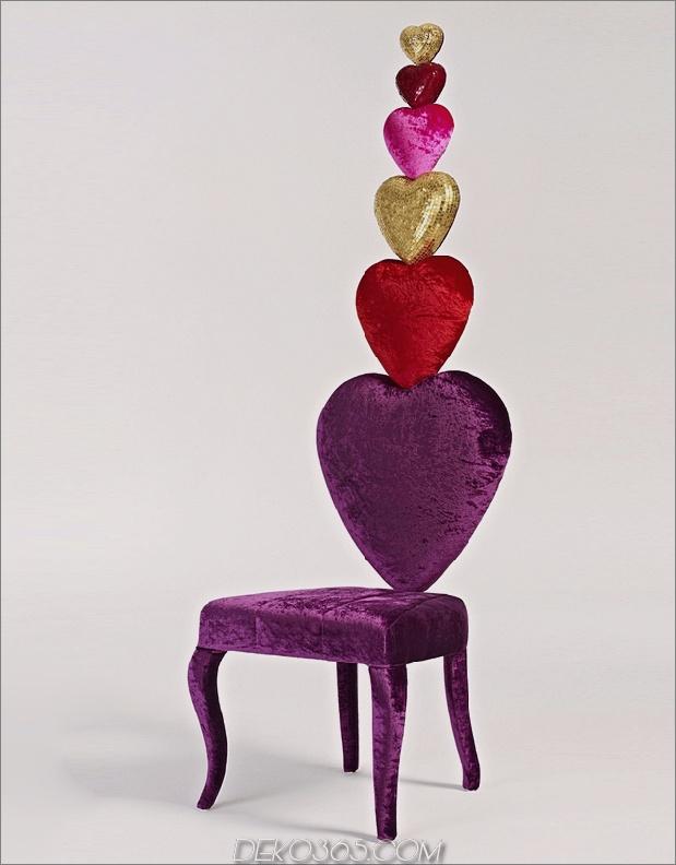 2 herzförmiger Stuhl sicis thumb autox807 62663 15 herzförmige Möbel- und Dekorationsideen