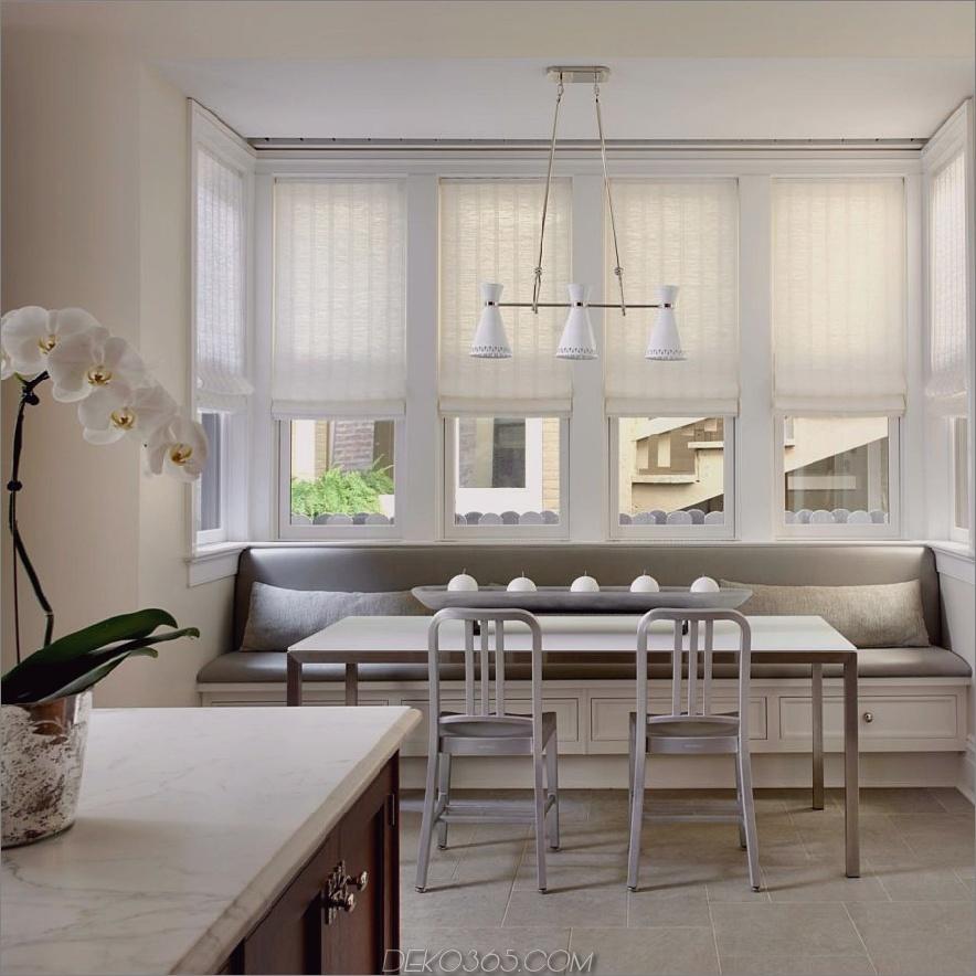moderne Banquette-Küchenbestuhlung 900x900 15 Kitchen Banquette-Sitzplatzideen für Ihren Frühstücksbereich