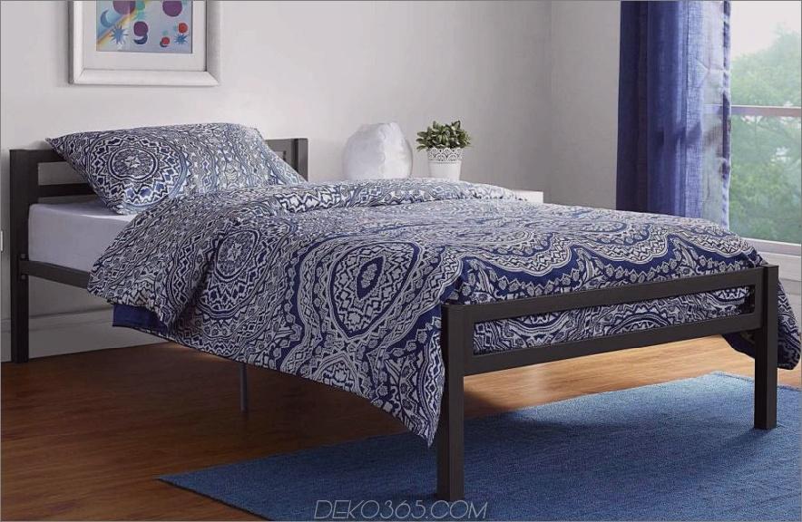 Bettreise mit diesem schicken Metallbett aus Metall 900x586 15 kleine Betten, die für den Raum geeignet sind, in dem Sie arbeiten