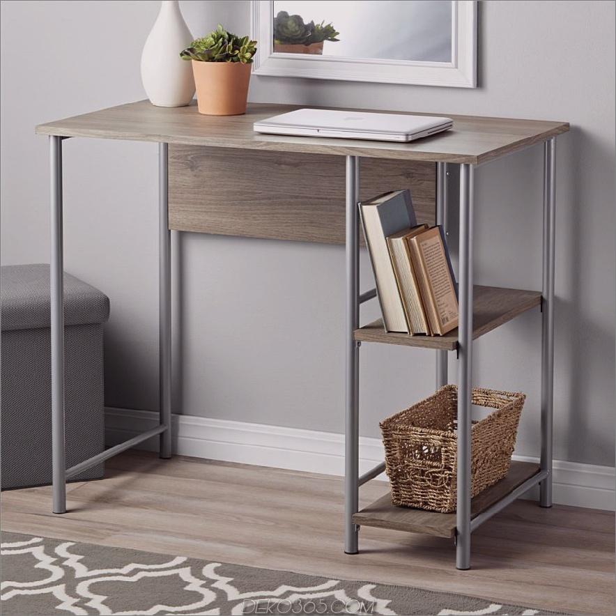 Mainstays Computertisch aus Holz und Metall 900x900 15 kleine Schreibtische für kleine Räume