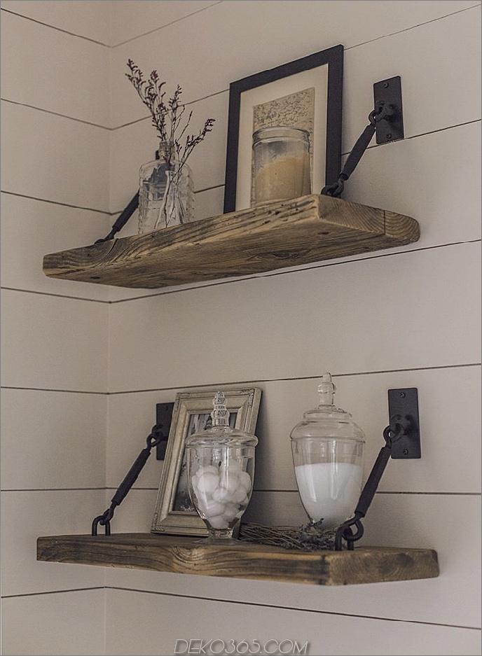 Rustikale Holz- und Metallregale 15 Rustikale Regaloptionen für Ihr Bauernhaus mit Geschmack