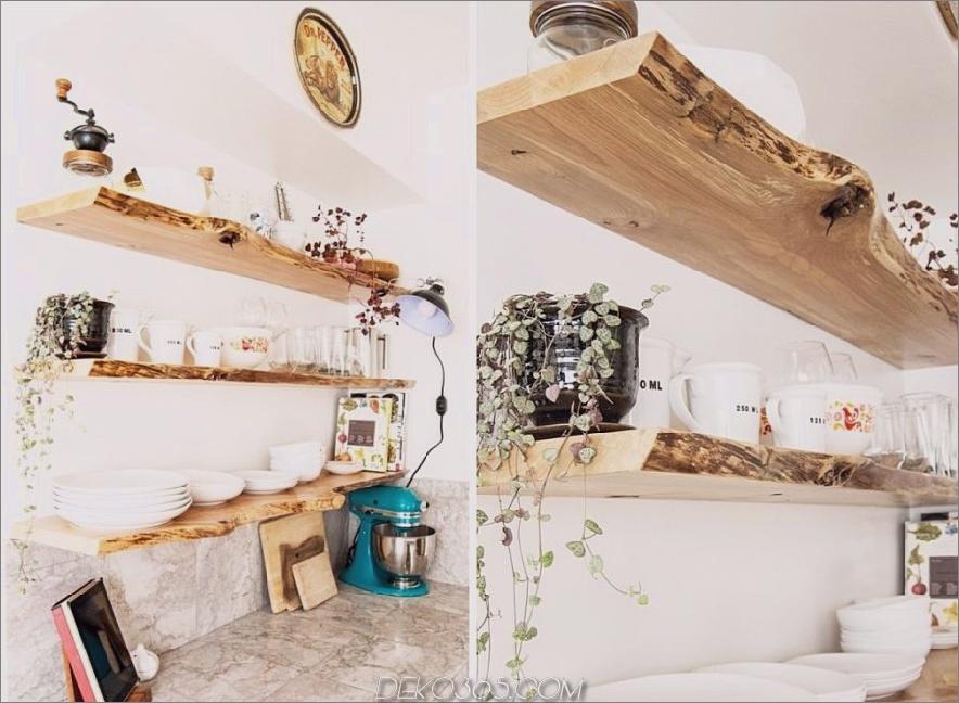 Rustikale Küchenregale 900x659 15 Rustikale Regaloptionen für Ihr Bauernhaus mit Geschmack