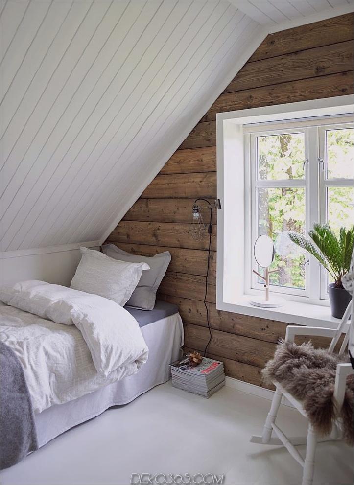 Dachgeschoss Schlafzimmer mit Holz Akzentwand 15 Dachgeschoss Schlafzimmer, die Sie machen wollen, im Obergeschoss so schnell wie möglich zu reinigen