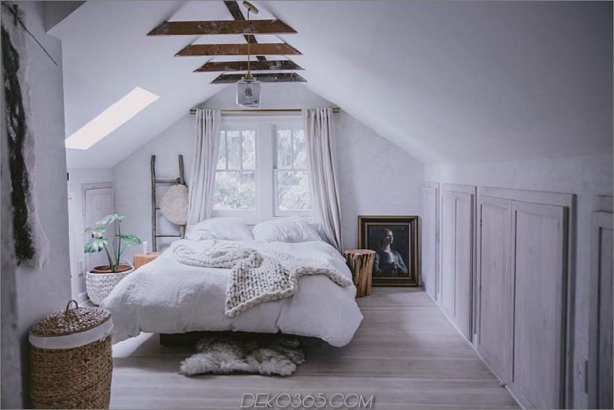 Weißes strukturelles Dachgeschoss-Schlafzimmer 900x600 15 Dachgeschoss-Schlafzimmer, die Sie dazu bringen möchten, im Obergeschoss ASAP zu reinigen