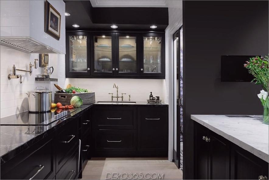 moderner schwarzer küchenschrank von Elle 900x601 15 schwarze küchenschränke, für die youll swoon ist