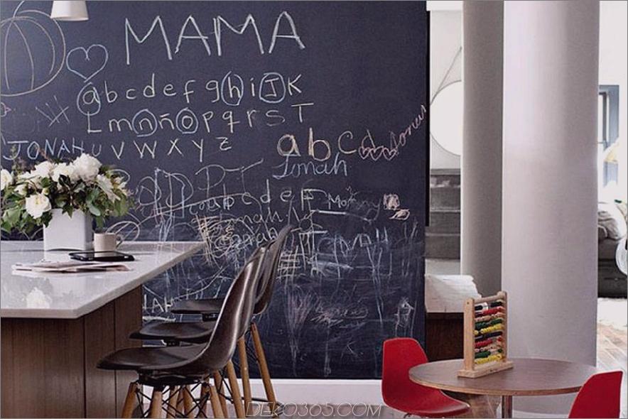 Tafel Wand moderne Küche Kindertisch 900x600 15 Tafel Wände Sie möchten innerhalb Ihres Hauses nutzen