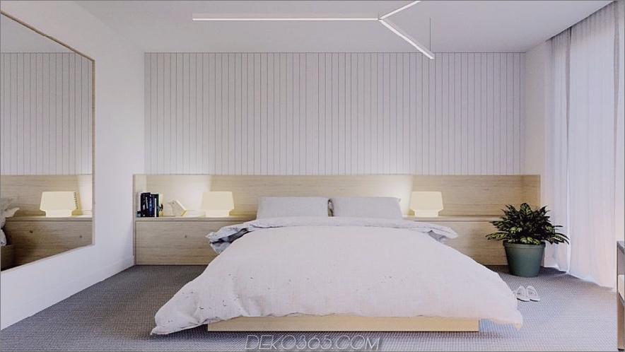 minimal modernes Schlafzimmer 900x506 15 Tipps zum Dekorieren eines modernen Schlafzimmers