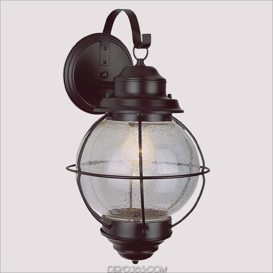 Vintage Zwiebellaterne Wandhalterung 900x900 15 Verschiedene Arten der Außenbeleuchtung für zu Hause