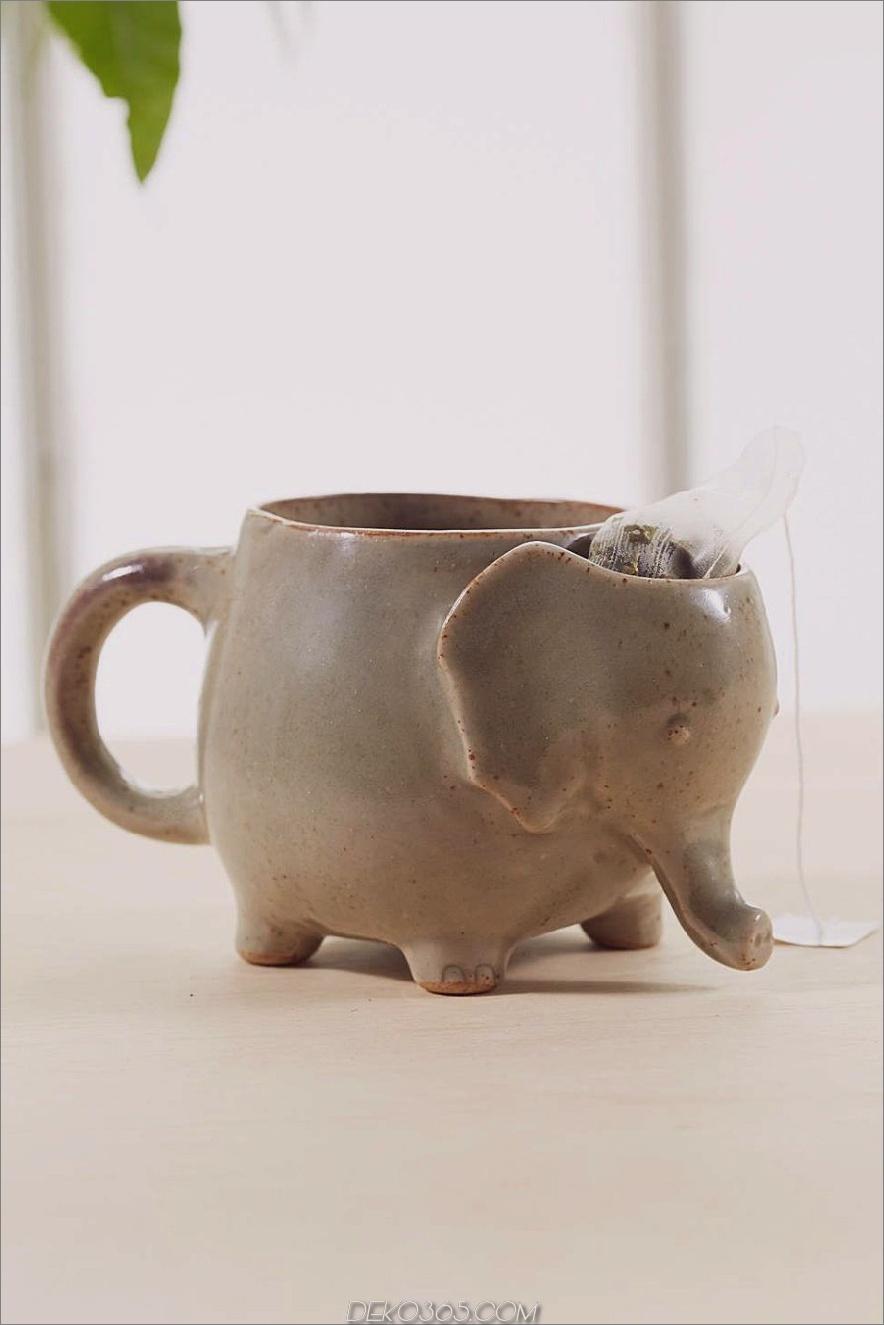 Elefant-Kaffeetasse