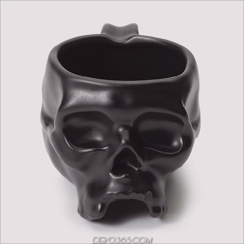 Halloween-Schädelkaffeetasse