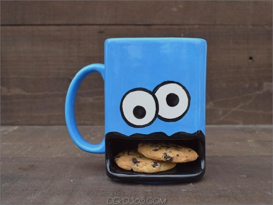 Plätzchen-Kaffeetassenhalter