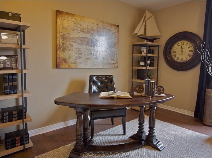 Sehen Sie sich die aufwendigen Beine an diesem traditionellen Schreibtisch an. 900 x 671 17 Traditionelle Schreibtische für jedes Home Office