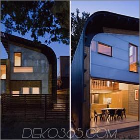 Central Courtyard Home Design - Australische Öko-Hausarchitektur
