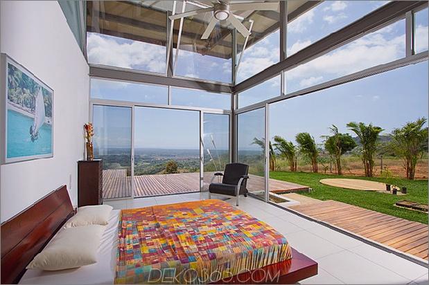2-verstellbare Traufe schaffen thermischen Komfort-Glas-Haus-17-Bett.jpg