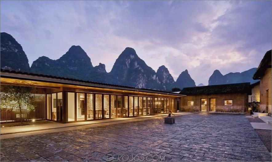 Das Boutique-Hotel Ares Partners Yun House wurde von traditionellen Bauernhäusern umgebaut