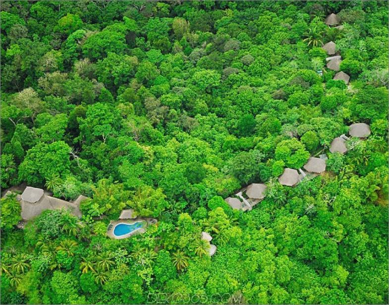 Lapa Rios Resort Blick von oben
