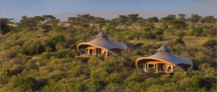 Mahali Mzuri Zelte im Safarilager Maasai Mara