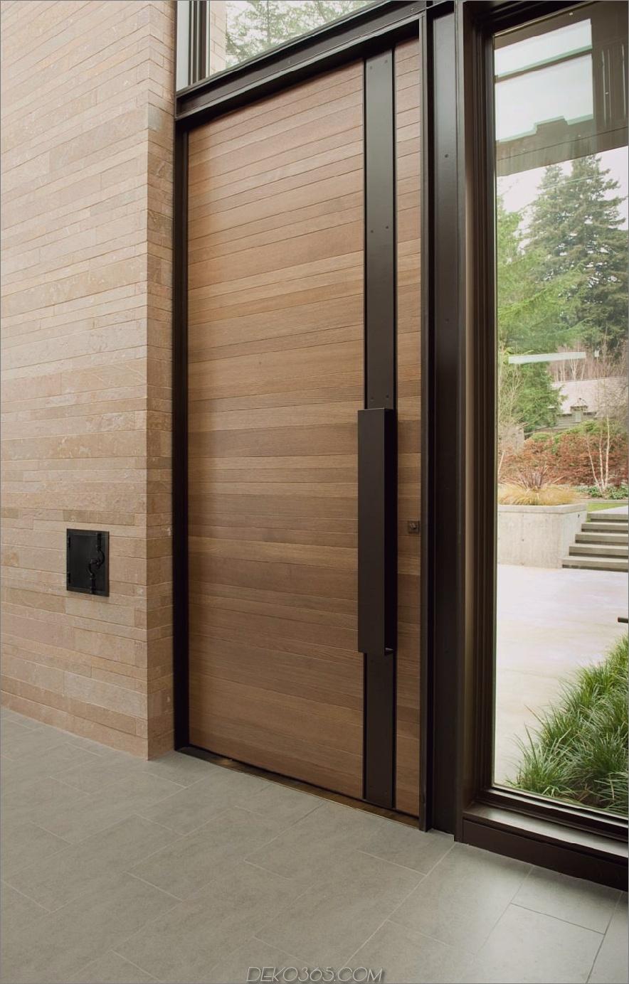 Moderne Haustür Inspiration 900x1410 20 Haustür-Designs, um Ihr Willkommen zu überarbeiten