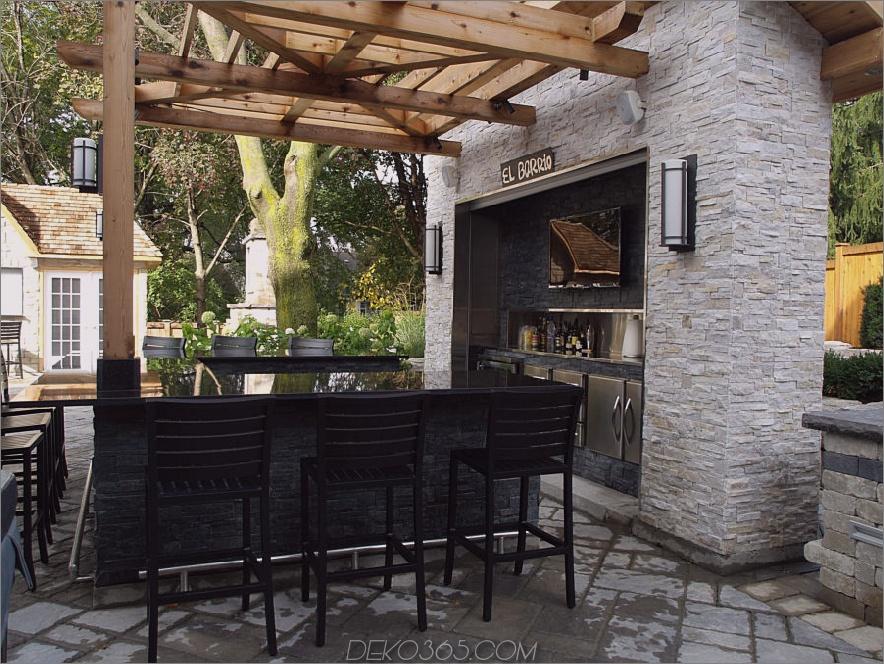 modernes Bar-Design mit Stein 900x675 20 Moderne Bar-Ideen für den Außenbereich!
