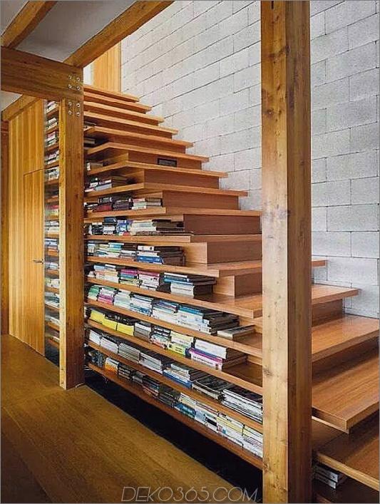 Buch gestapelte Treppe