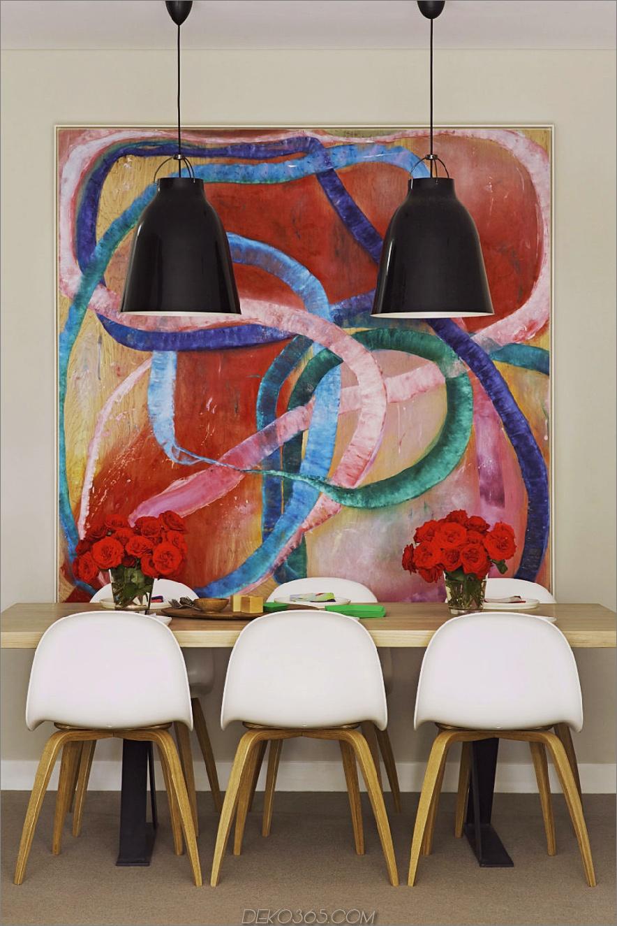 Arent und Pyke Apartment Esszimmer 900x1350 20 Esszimmer mit Kunstwerken, die den Unterschied machen