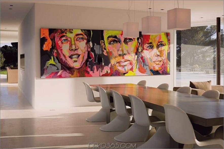 Pop Art in einem Esszimmer